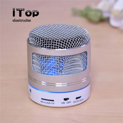 iTop Microphone Bluetooth Speaker Bass, Small But Loud, The Next Generation of Portable Speakers for Home, Outdoors, Shower - 副本