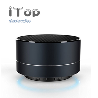 iTop Mini Bluetooth Speaker A10 Small Speaker Wireless Portable Bluetooth Speaker Subwoofer Card USB Interface, with HD Sound​