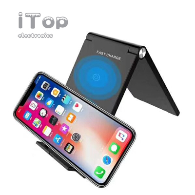 Wireless Charger Qi Charging Pad Ultra Slim Sleep-Friendly
