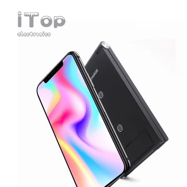 iTop Wireless Charger, Qi Fast Wireless Charging Foldable Stand,Compatible with Samsung Galaxy S10/S10 Plus/S10e/Note 9/S9/S9 Plus, iPhone Xs Max/XS/XR, LG G7 ThinQ, Google Pixel 3/3 XL (No AC Adapter