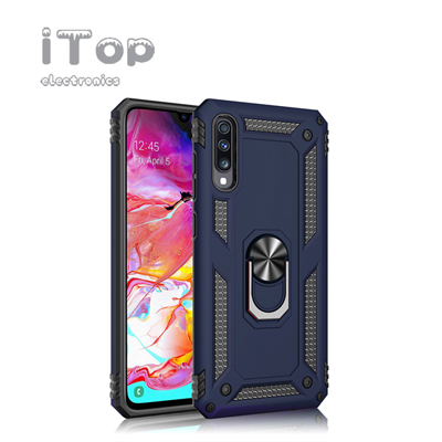iTop Military Armor Case for Samsung GalaxyS8 S9 S10plus Shockproof Ring Holder Cover For Galaxy A7 A6 A8 A9 J4 J6 Plus 2018~A50 A10 Case