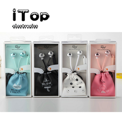 iTop 265 For Promoting Give-away Headsets In Ear Earphone with Mic 3.5mm Headphone Dual Candy Color New Fashion with Plastic Storage box for iphone samsung Type: hanging ear plugs Type: type into hea