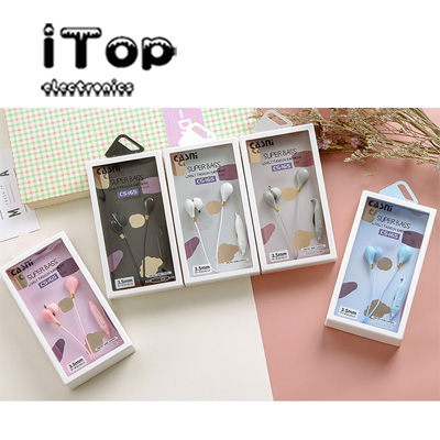 iTop 165 For Promoting Give-away Headsets In Ear Earphone with Mic 3.5mm Headphone Dual Candy Color New Fashion with Plastic Storage box for iphone samsung Type: hanging ear plugs Type: type into hea