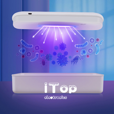 iTop Sterilization Box C01 Multifunctional Mobile Phone Face Mask UV Disinfection Aromatherapy Ultraviolet Lamp Sterilizer Disinfectant Box