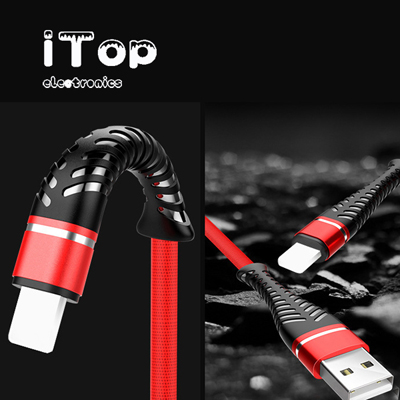 iTop Charger Cable for Long 6 Foot iPhone Charger Cord, Data Sync Fast iPhone USB Charging Cable Cord Compatible with iPhone X Case/8/8 Plus/7/7 Plus/6/6s Plus/5s/5, iPad Mini Case