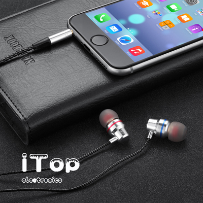 iTop Earbuds, Noise Isolating Earphones, Bass Driven Sound, Premium Audio Quality in Ear Headphones, Compatible with iPhone, Samsung, Laptops, Tablets and Android Smartphones