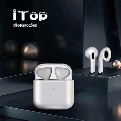 iTop Pro 4 TWS Wireless Headphones 5.0 True Bluetooth Earbuds Sports Earpiece 3D Stereo Sound Earphones with Charging Box