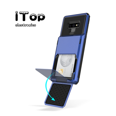 iTop Galaxy Note 20 Ultra 5G Case, Galaxy Note 20 Ultra Card Holder Case, Dual Layer Wallet Case and Card Slot Holder Slim Shockproof Stand Case for Samsung Galaxy Note 20 Ultra 6.9 inch